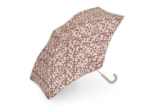 Konges Sløjd Konges Sløjd Kids Umbrella - WINTER LEAVES DARK RED