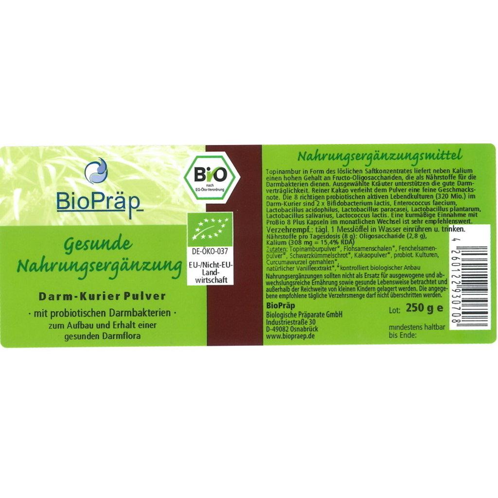 BIO Intestinal Cure powder and ProBio 8 Plus capsules