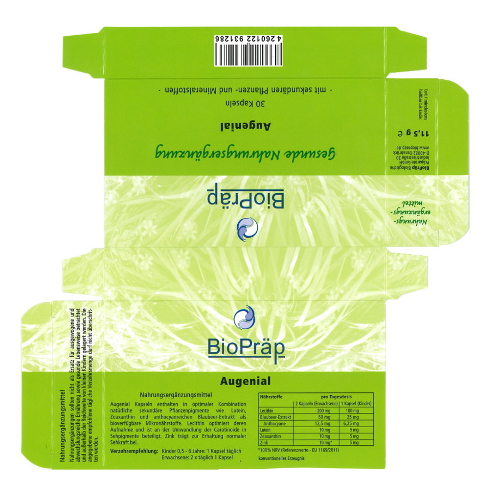 Augenial Capsules Blister