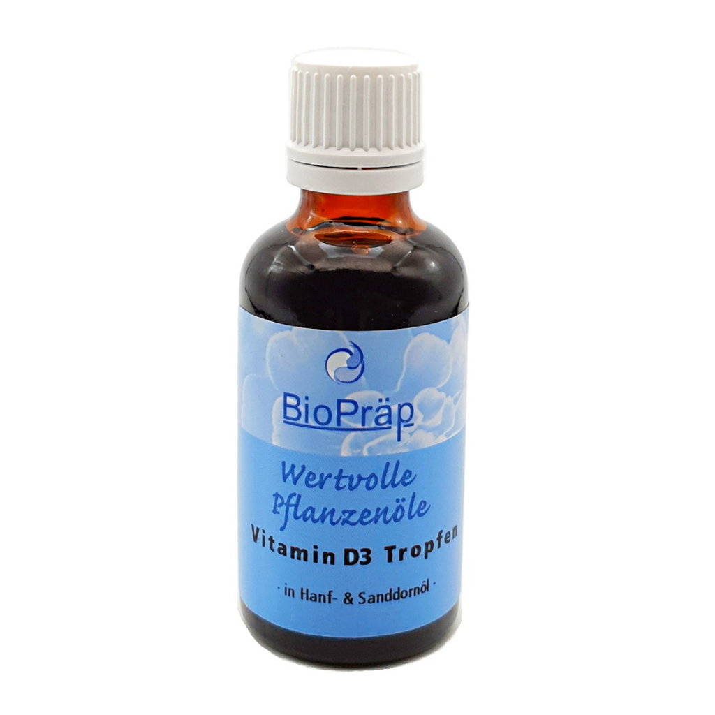 Vitamin D3 drops finely dosed