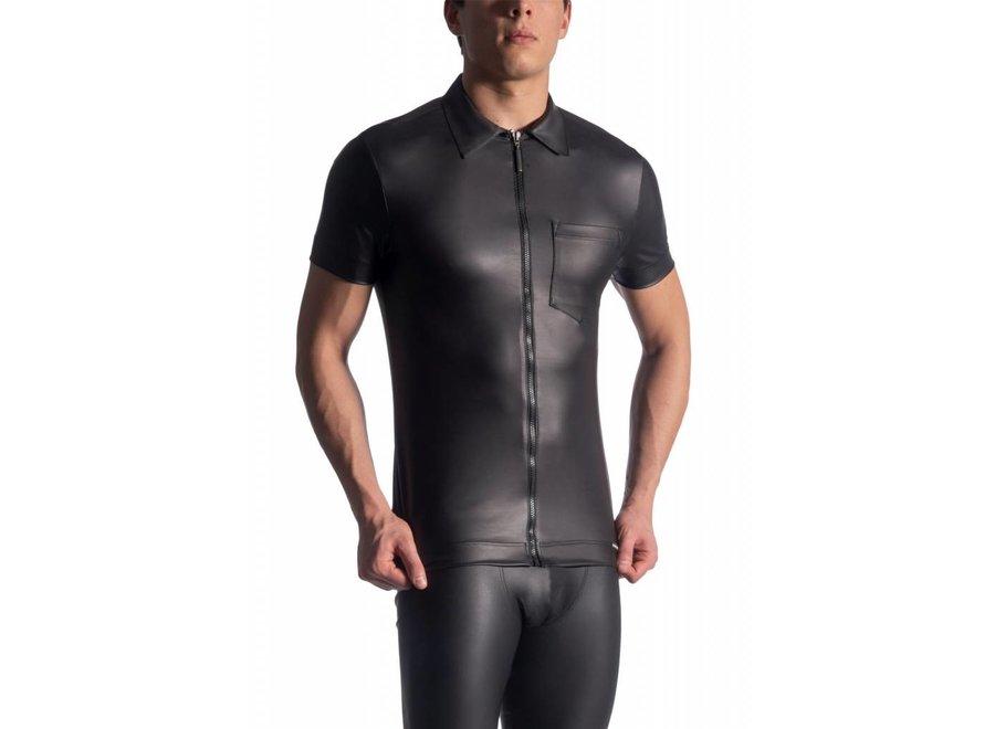 M510 Zipped Shirt Black