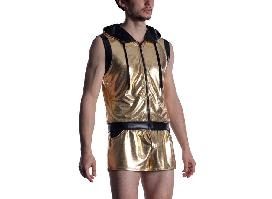 M2011 Zipped Hoody Gold