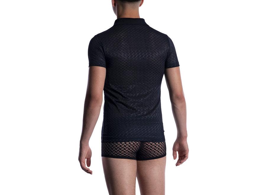 M2053 Polo Shirt Black Black