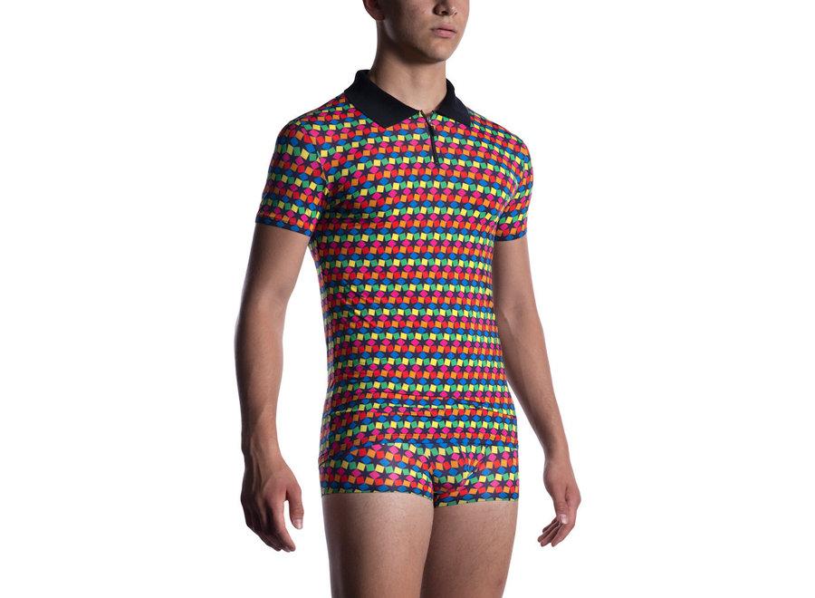 M2056 Polo Shirt Rainbow 202
