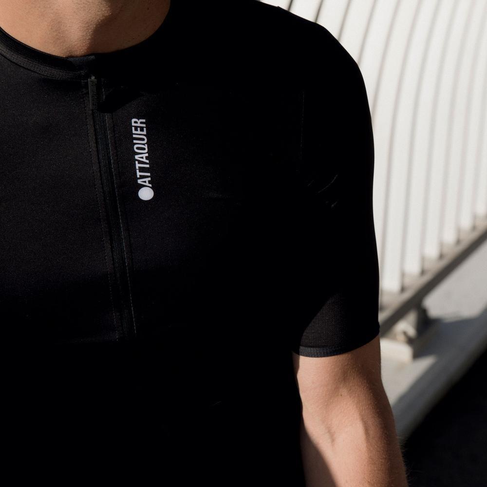 Race Fietsshirt Short Sleeve Zwart-4