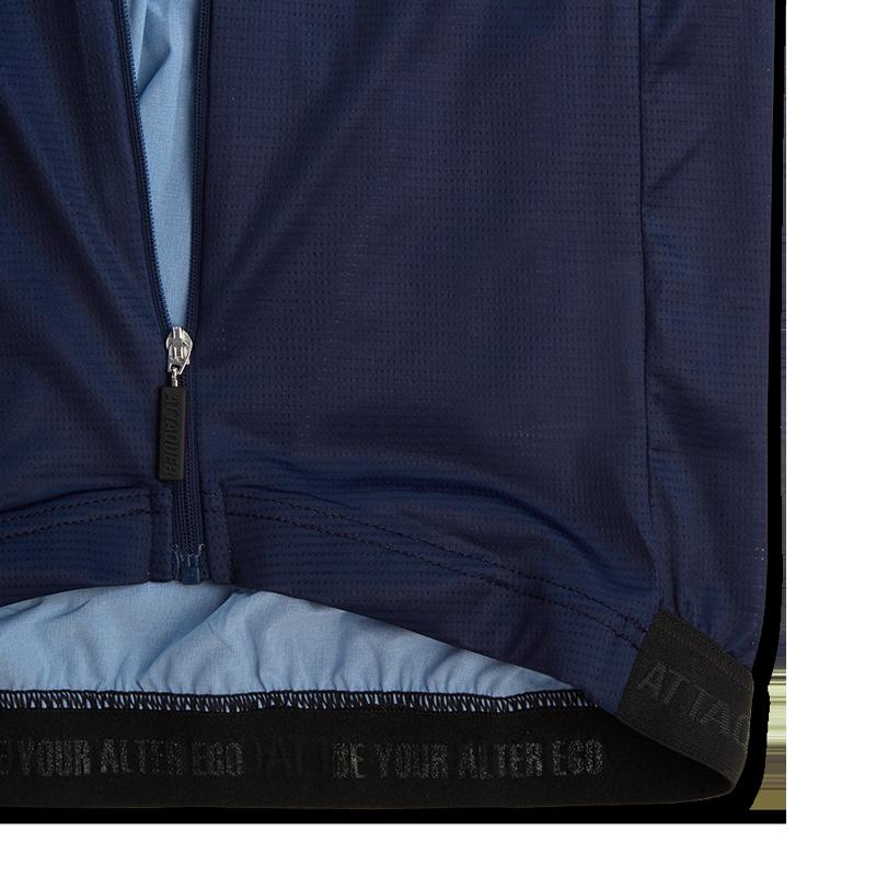 Race ULTRA+ Aero Short Sleeve  Blauw-6