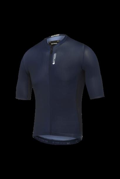 Race Fietsshirt Short Sleeve Blauw