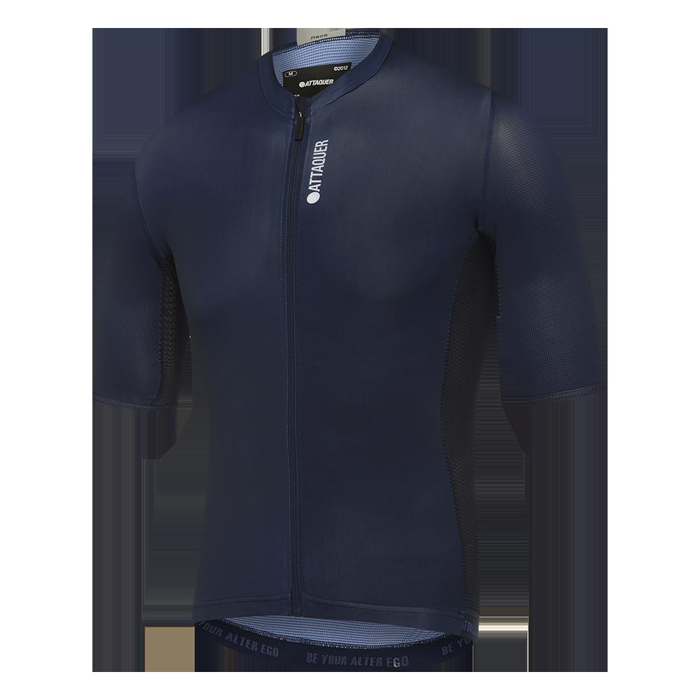 Race Fietsshirt Short Sleeve Blauw-1