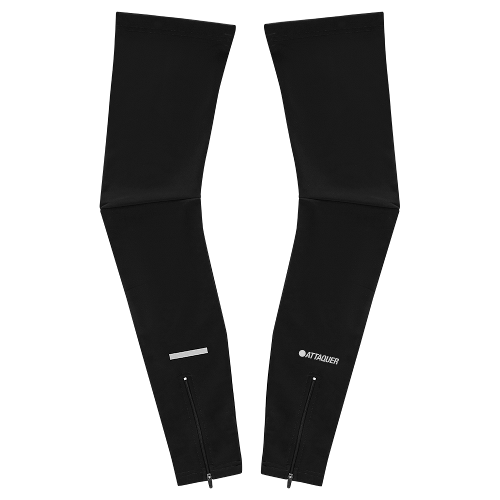 Leg Warmers Black/Reflective-1