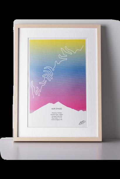 Print Alpe d'Huez