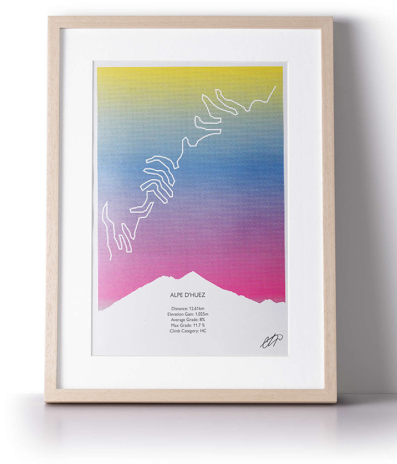 Print Alpe d'Huez-1