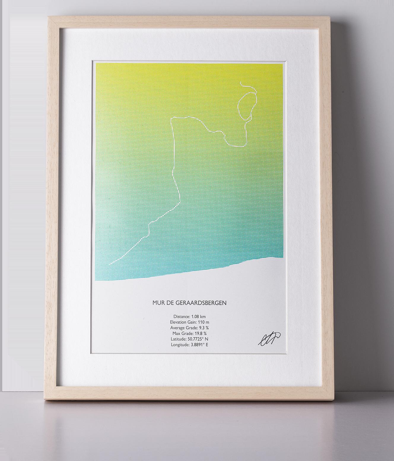Print Mur de Geraardsbergen-1