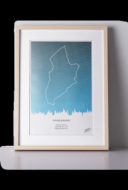 Print Rondje IJsselmeer