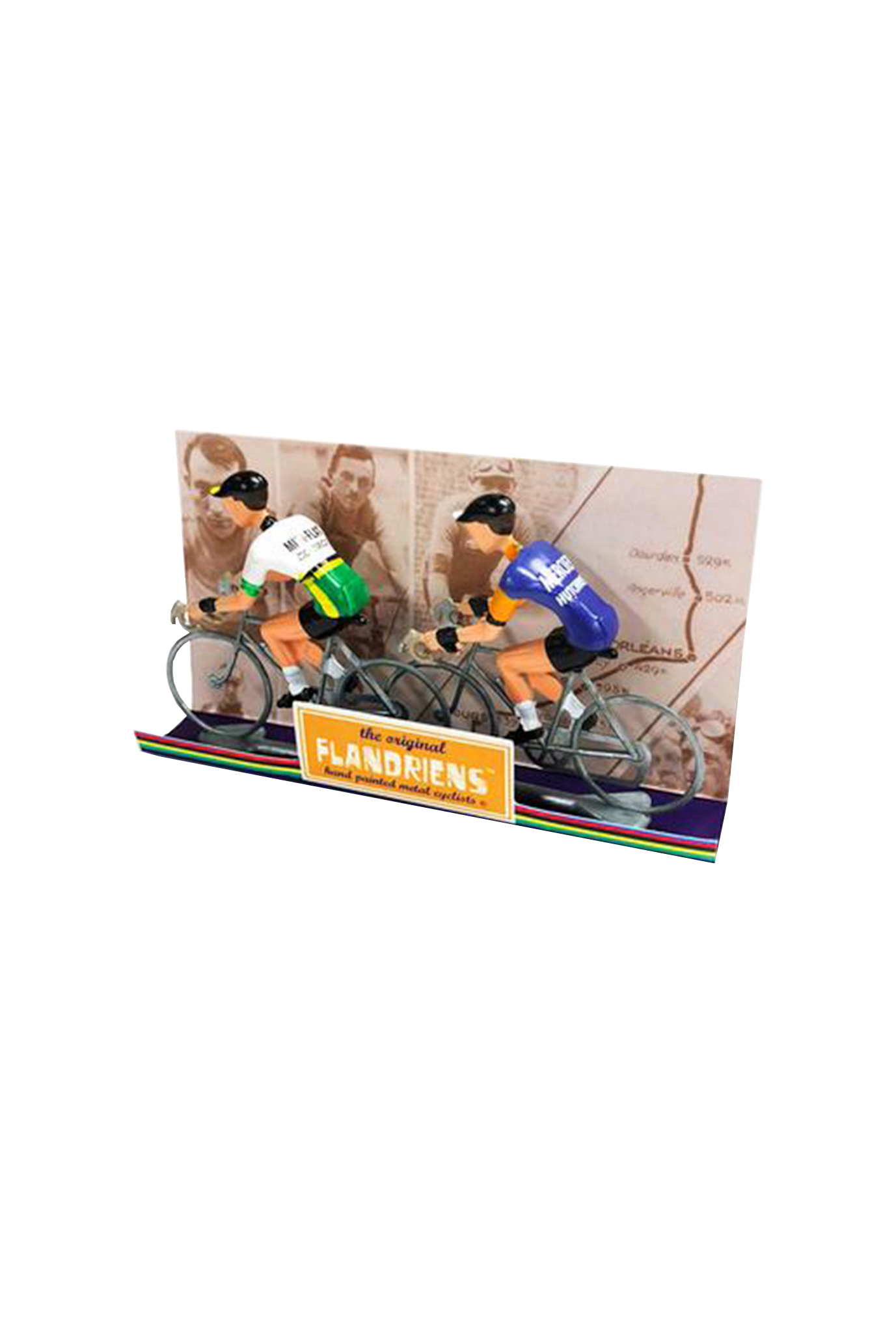 Miniatuur wielrenners 2st (diverse varianten)-2