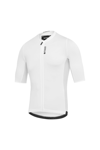 Race Fietsshirt Short Sleeve Wit