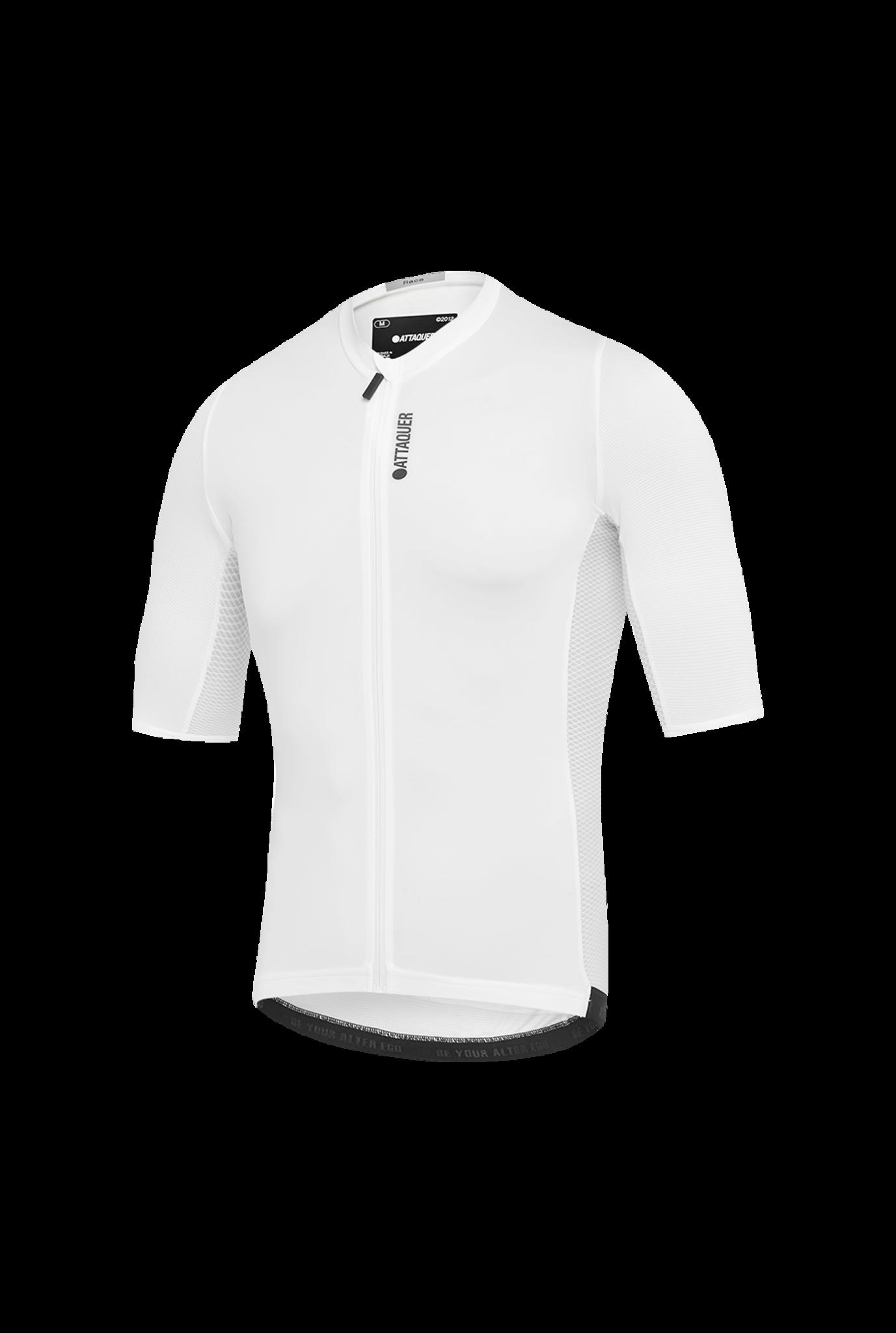 Race Fietsshirt Short Sleeve Wit-1