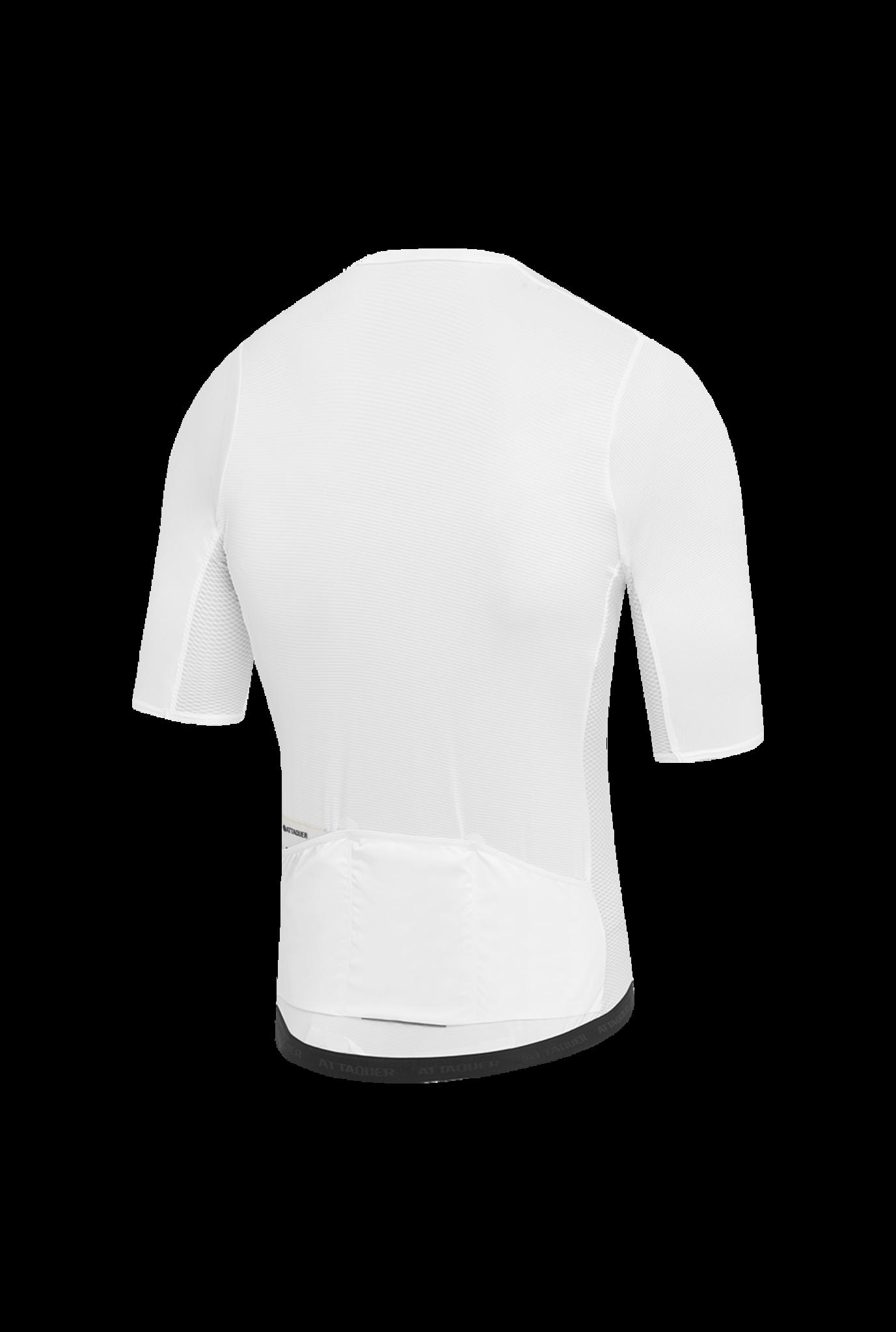 Race Fietsshirt Short Sleeve Wit-2