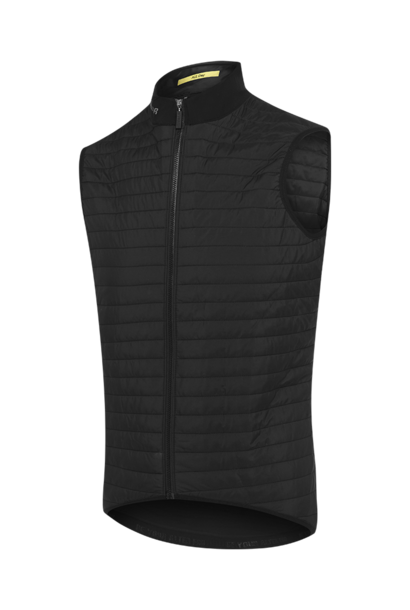 All Day Quilted Gilet zwart