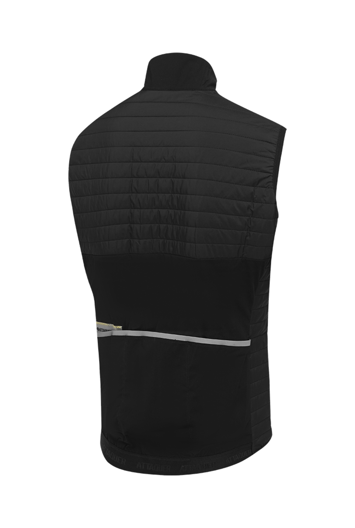 All Day Quilted Gilet zwart-2