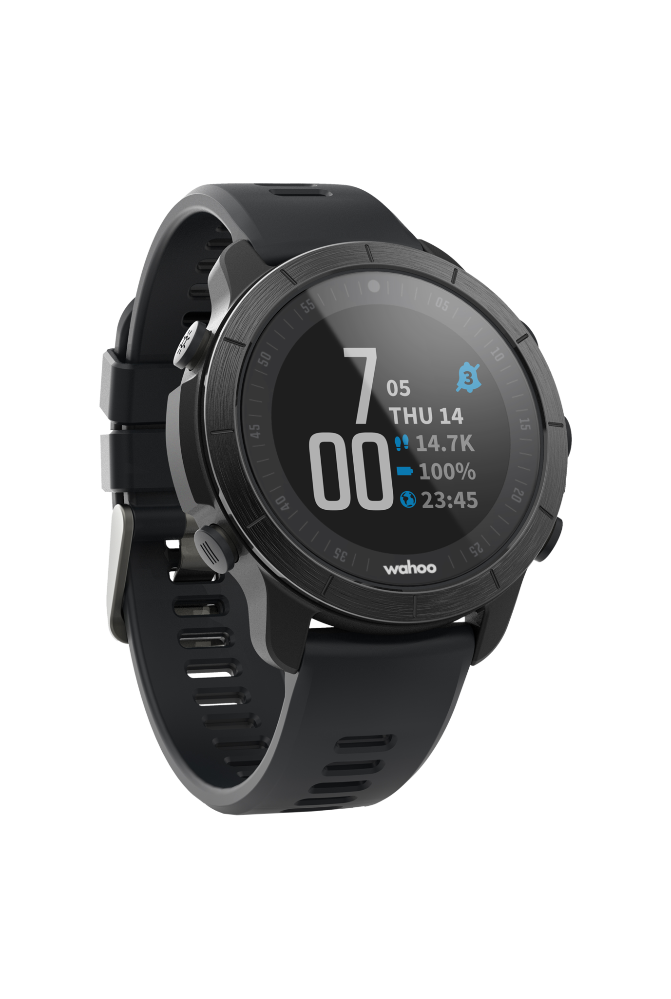 ELEMNT RIVAL GPS Watch Stealth Edition-1