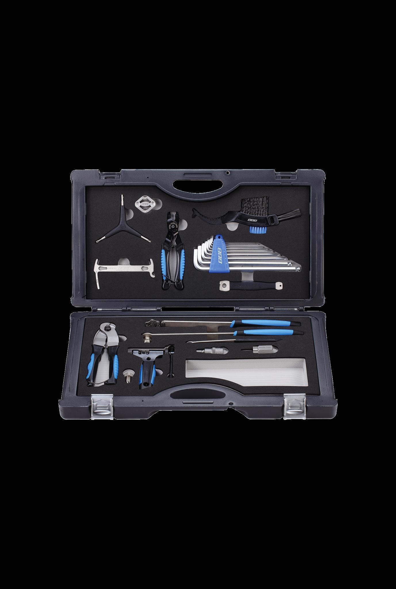 toolbox Allroundkit 16 stuks zwart-1