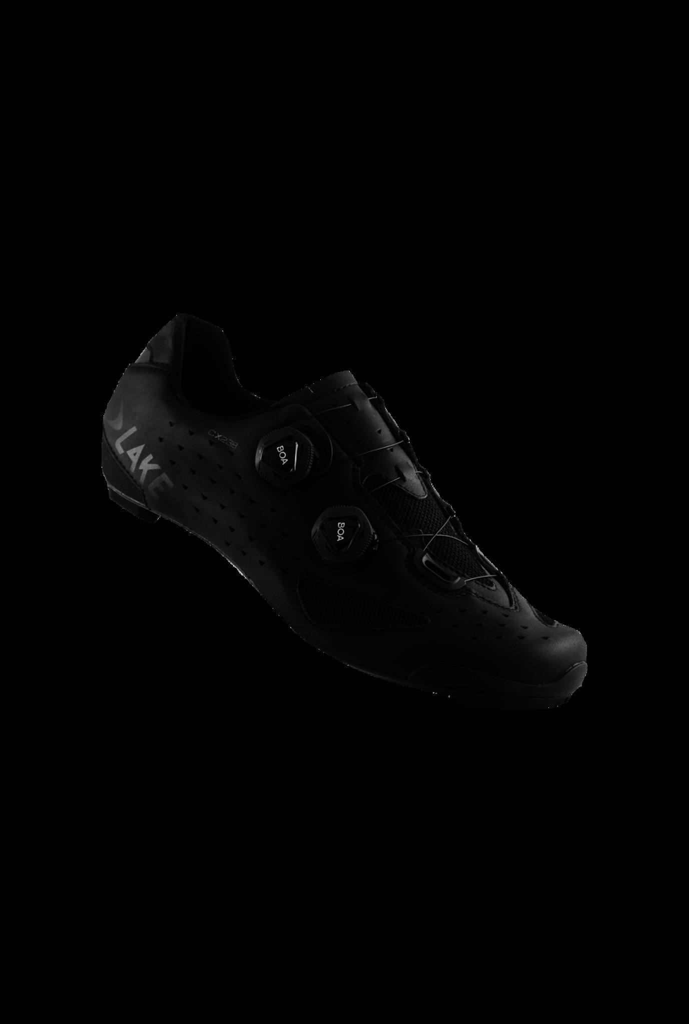 Schoenen Lake CX238  Black/Black-2