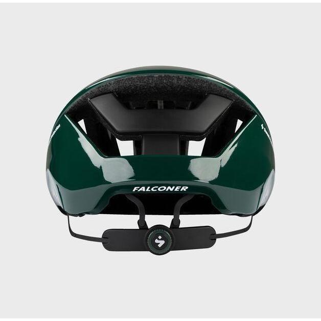 Falconer II Helmet Gloss Forest Green Medium-4