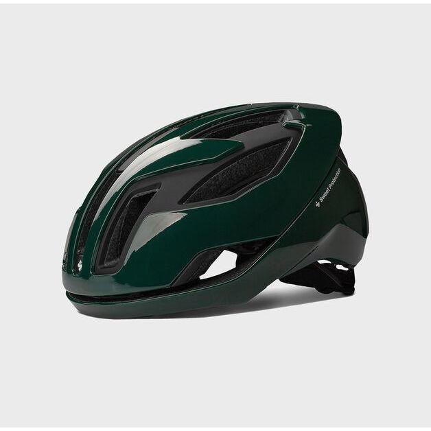 Falconer II Helmet Gloss Forest Green Medium-1