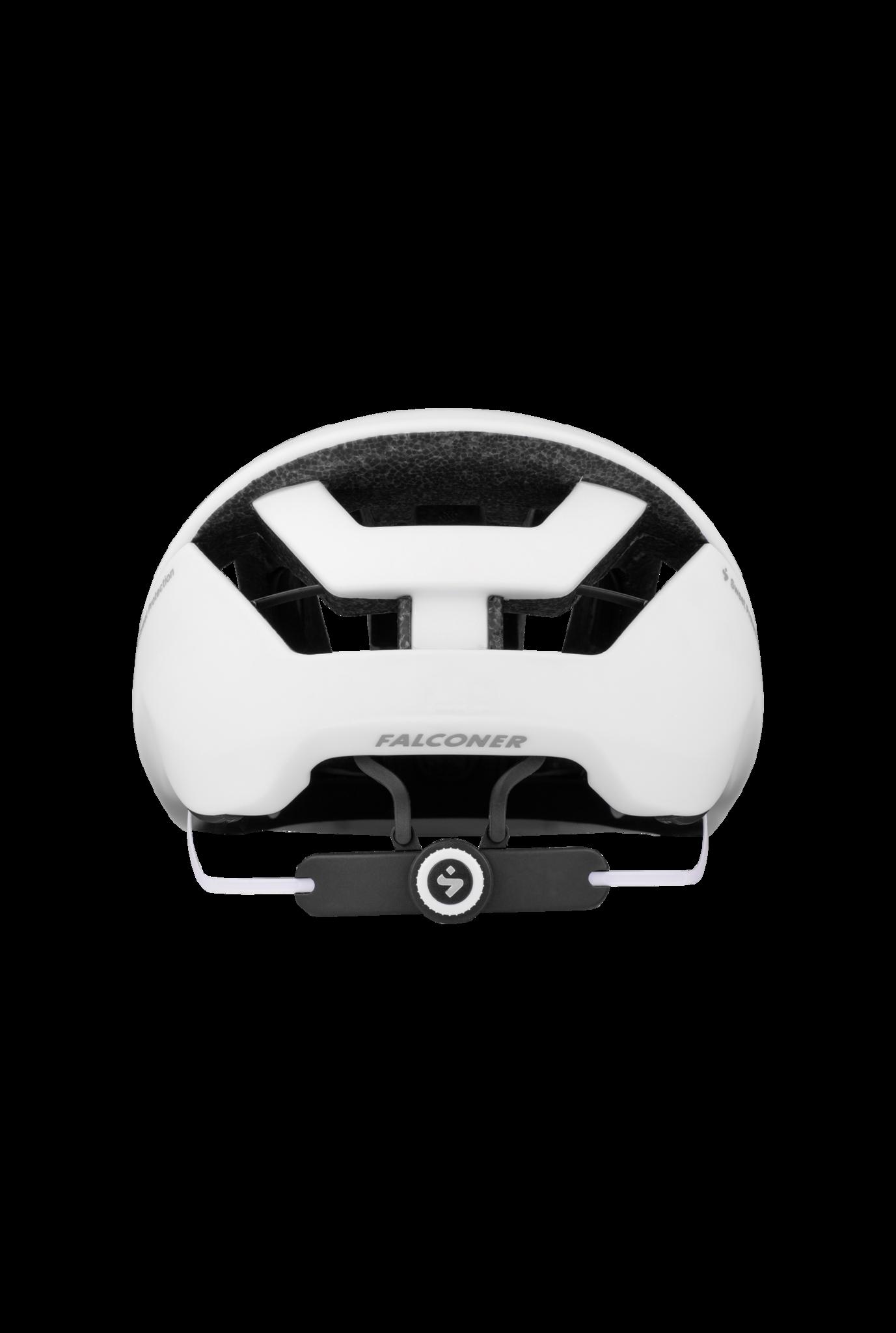 Falconer II Helmet Matte White Large-4