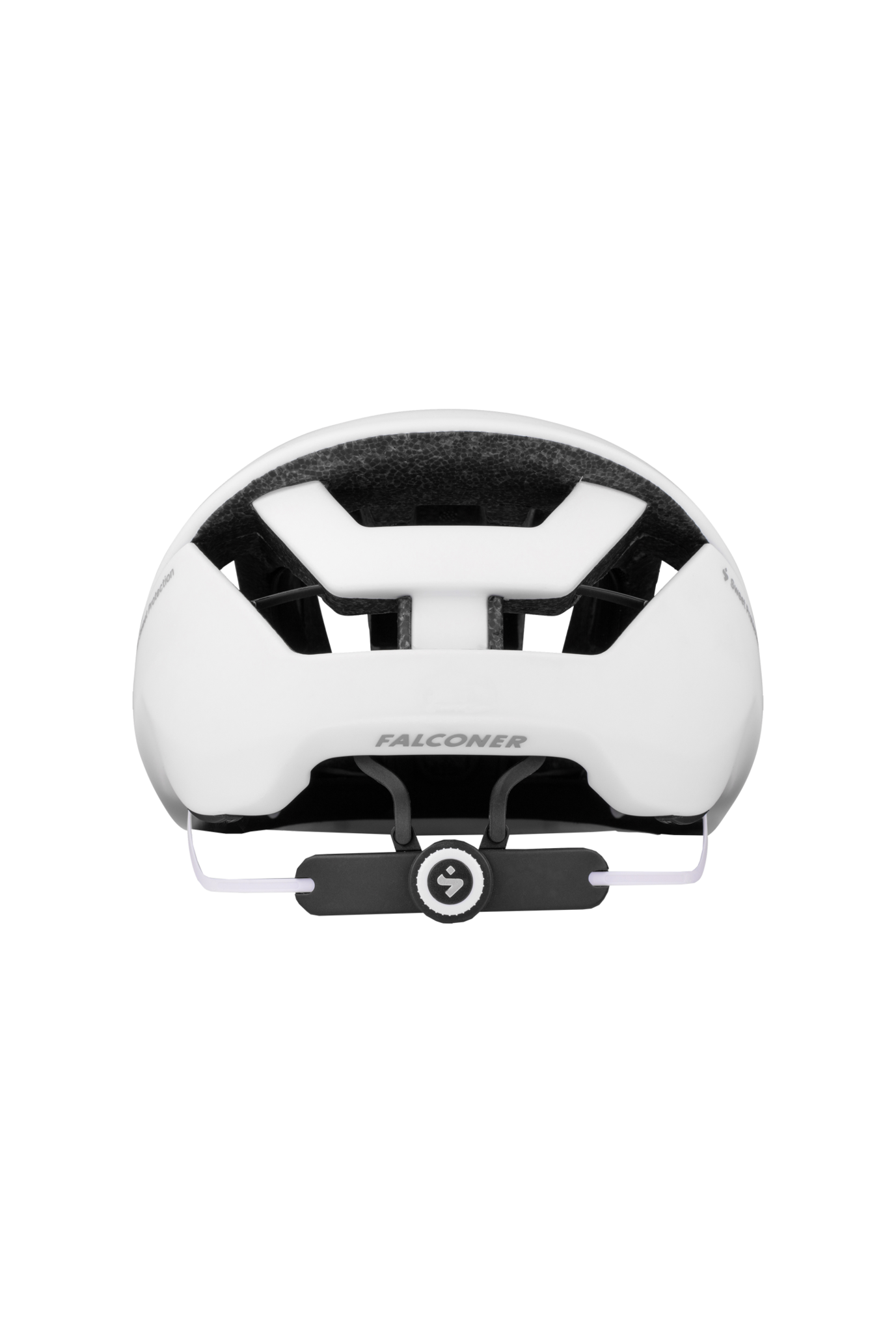 Falconer II Helmet Matte White Medium-4