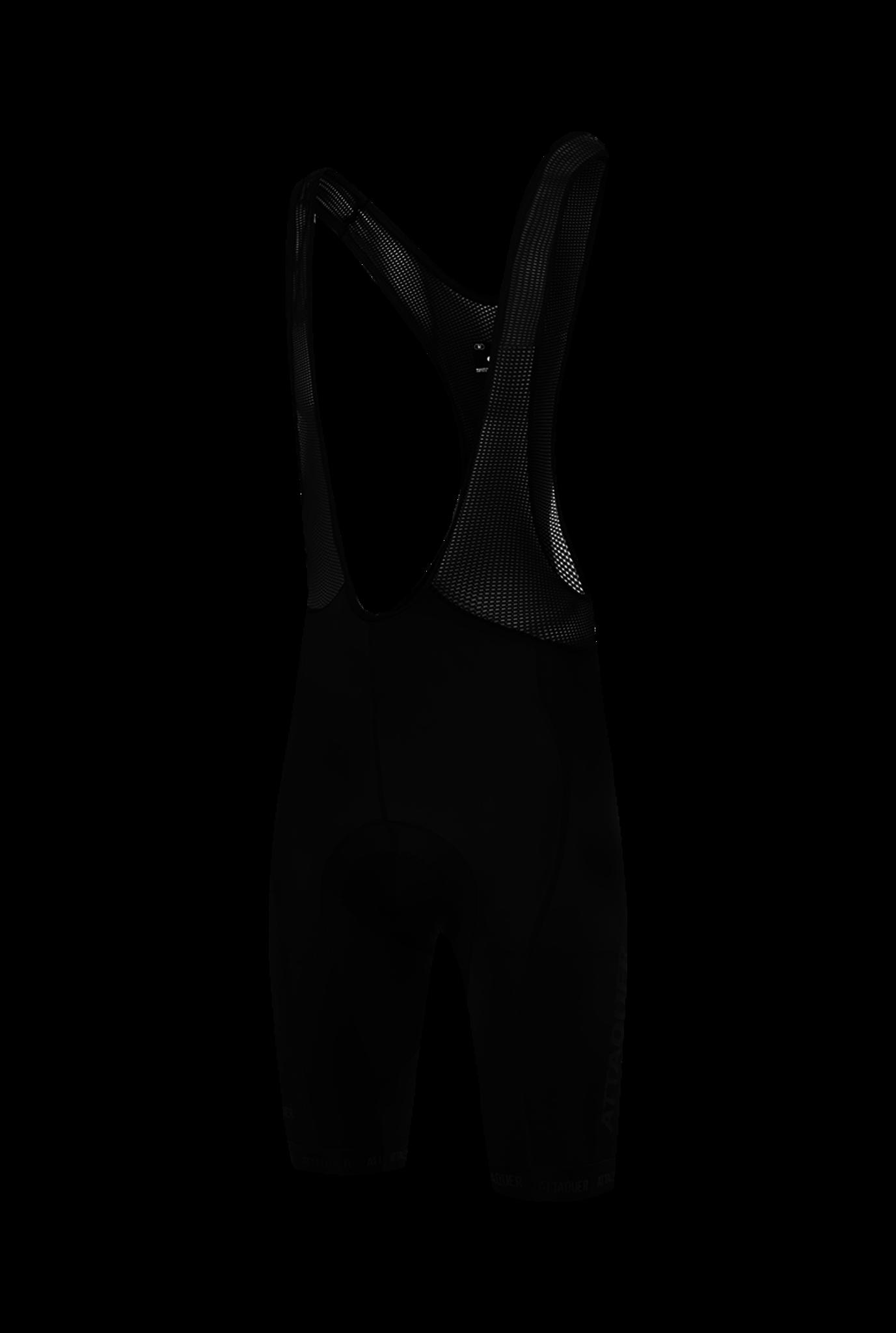 Race Bib Short Black Reflective Tonal Logo 2021-1