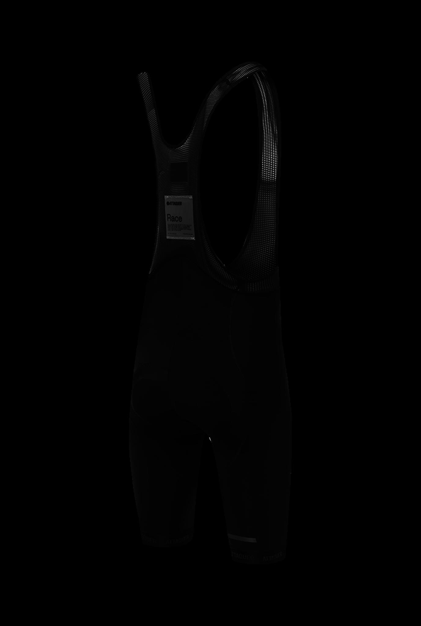 Race Bib Short Black Reflective Tonal Logo 2021-2