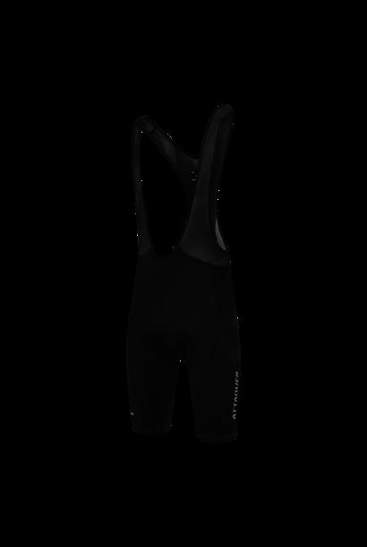 Race Bib Short Black Reflective White Logo 2021