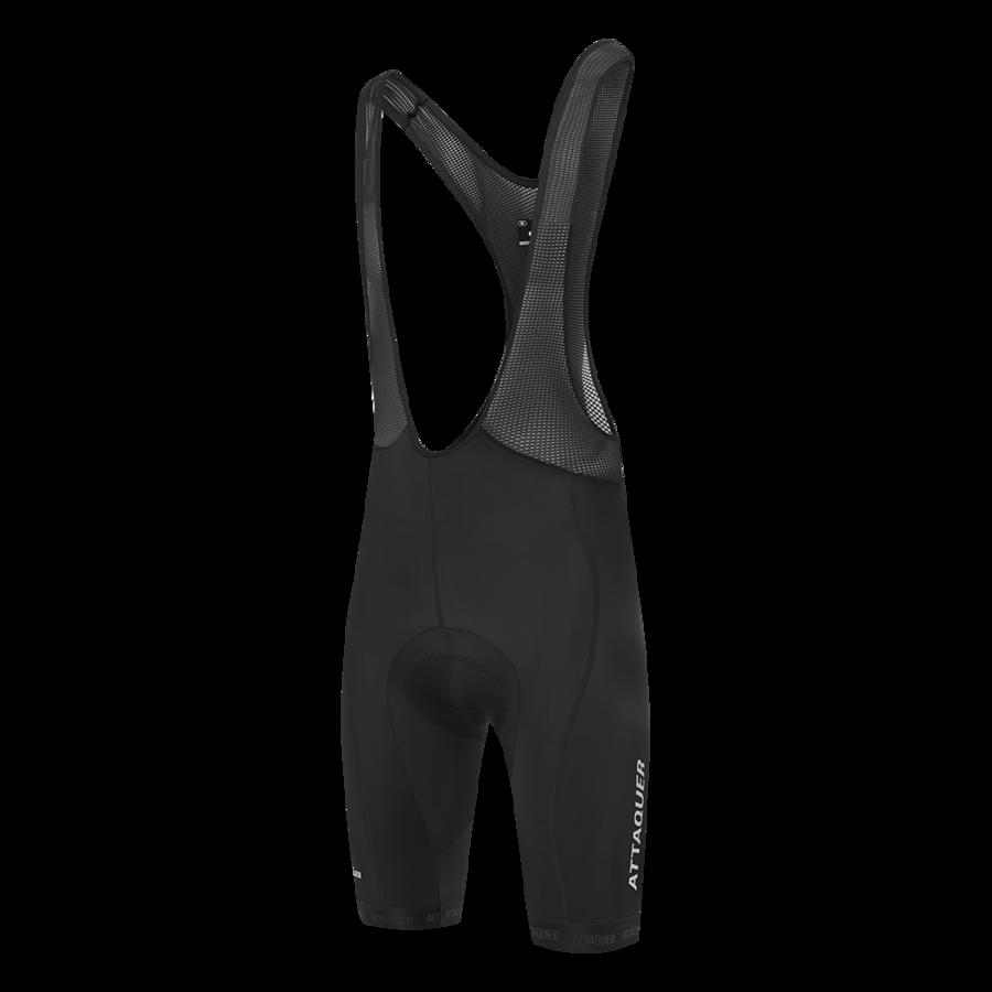Race Bib Short Black Reflective White Logo 2021-1