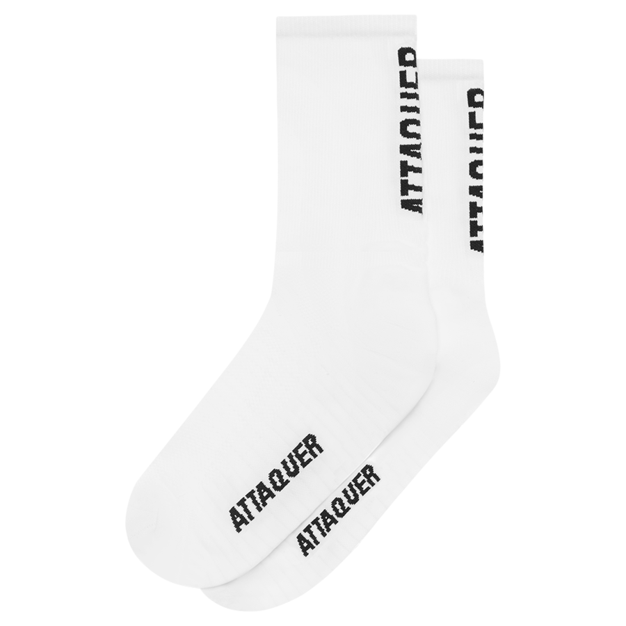 Socks Vertical Logo White Large-1