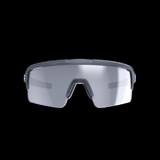 BSG-65 sportbril Fuse PC MLC zilver transparant grijs-2