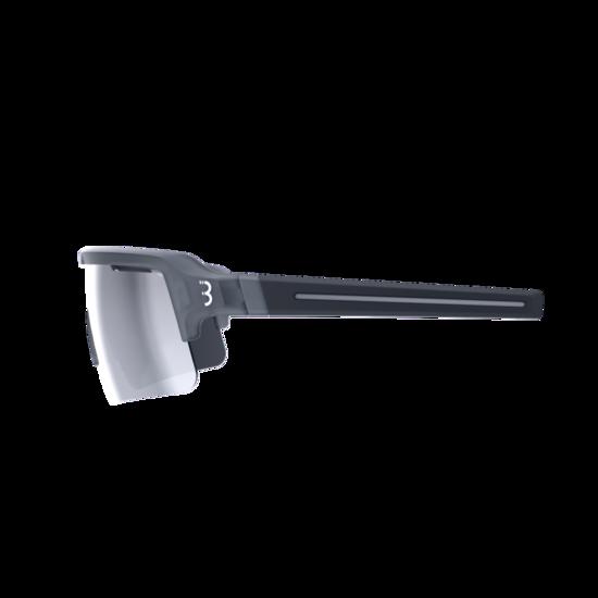 BSG-65 sportbril Fuse PC MLC zilver transparant grijs-3