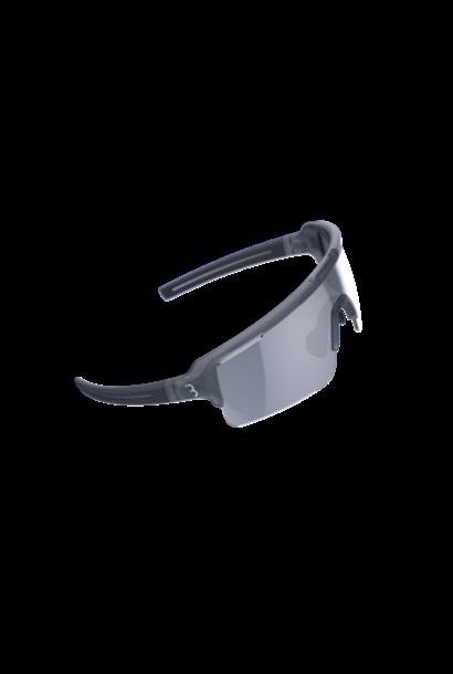 BSG-65 sportbril Fuse PC MLC zilver transparant grijs