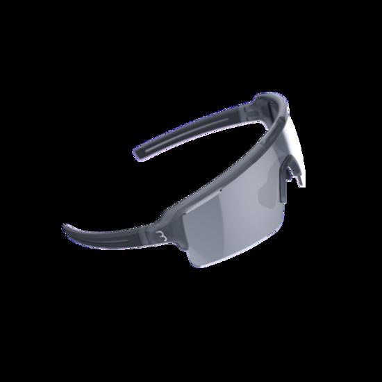 BSG-65 sportbril Fuse PC MLC zilver transparant grijs-1
