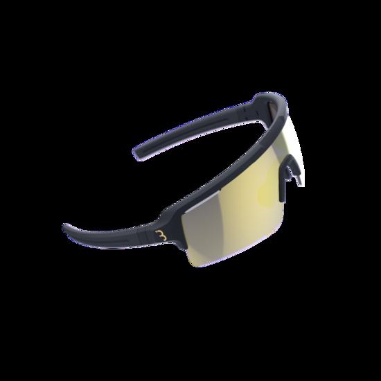 BSG-65 sportbril Fuse PC MLC goud mat zwart-1