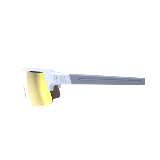 BSG-65 sportbril Fuse PC MLC oranje mat wit-3