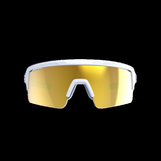 BSG-65 sportbril Fuse PC MLC oranje mat wit-2
