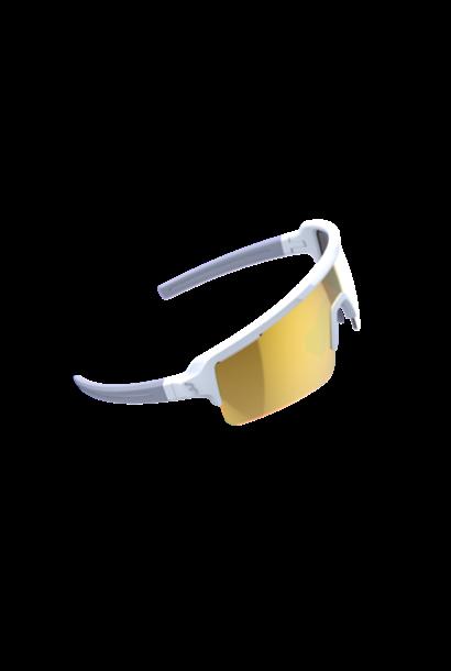 BSG-65 sportbril Fuse PC MLC oranje mat wit