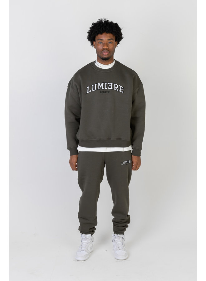 Lumi3re Sportif Army Green Hoodless