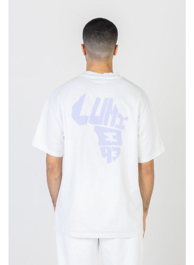 African Logo T-shirt White