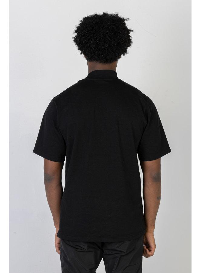 Turtleneck T-shirt Black