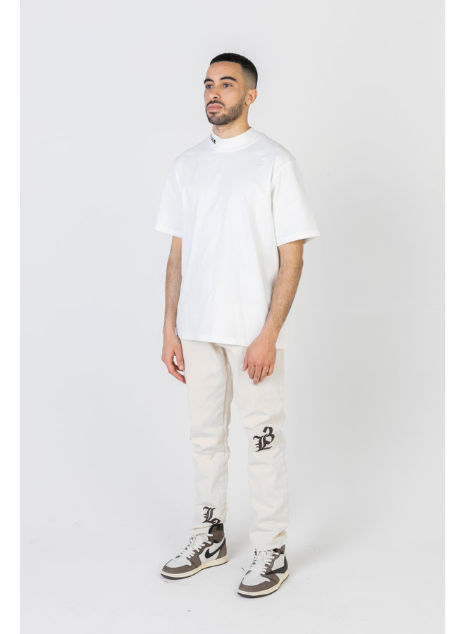 Turtleneck T-shirt White