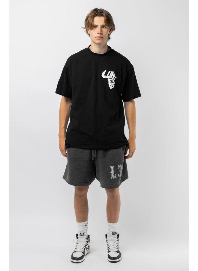 African Logo T-shirt Black