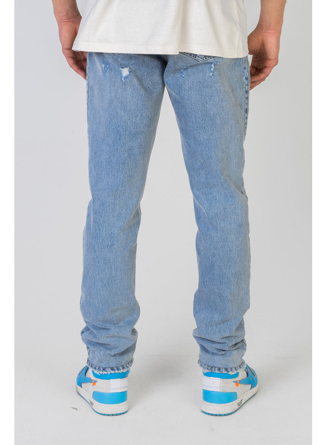 Loose Fit Embroidered Lumi3re Jeans