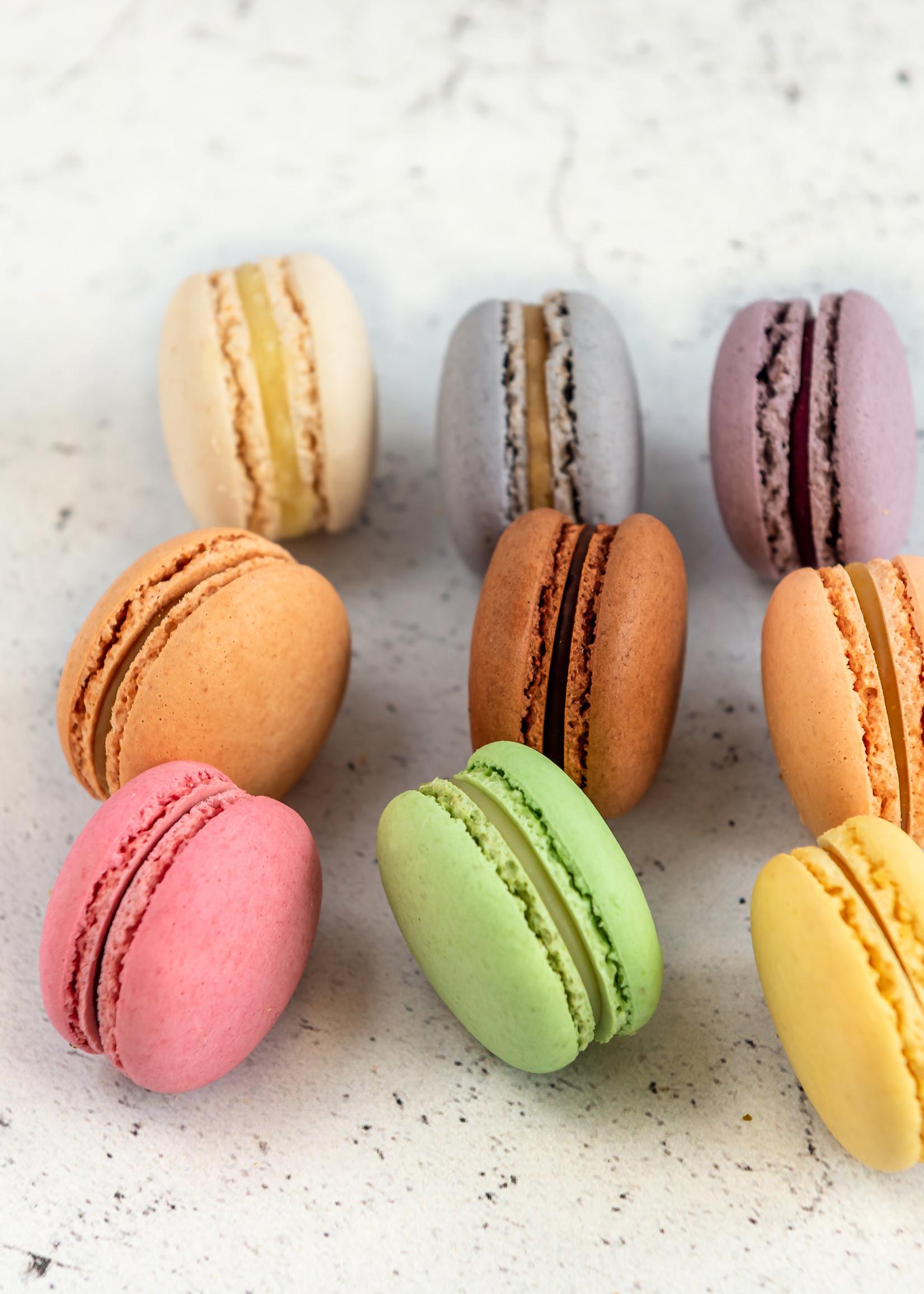 Doosje met 9 macarons naar keuze